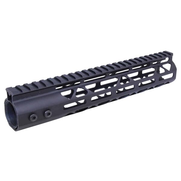 10in Air Lite M-LOK Free Floating Handguard With Monolithic Top Rail (Anodized Black)