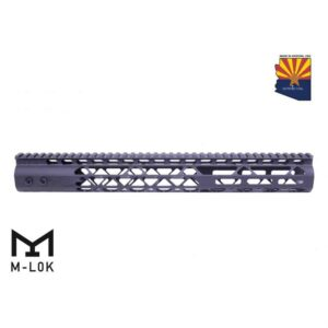 15-inch Air Lite Series M-LOK Free Floating Handguard With Monolithic Top Rail